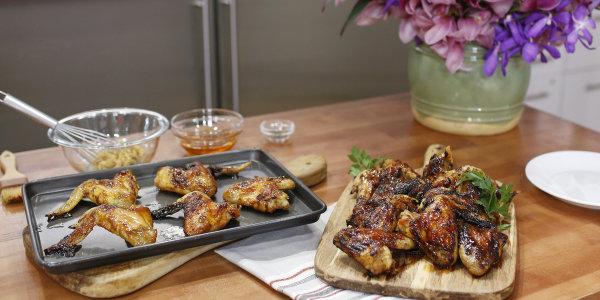 Miso-Honey Chicken Wings