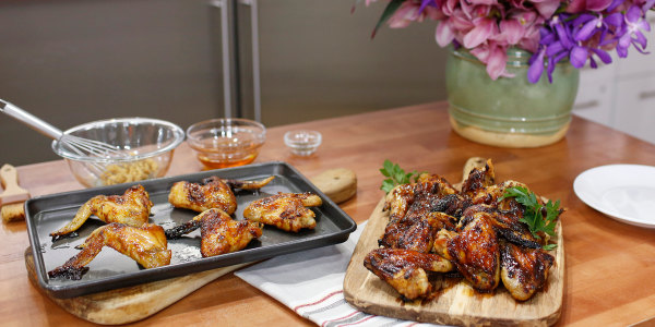 Miso-Honey Chicken Wings