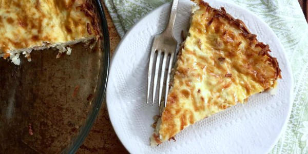 Joy Bauer's Low-Calorie Quiche Lorraine with Spinach Crust