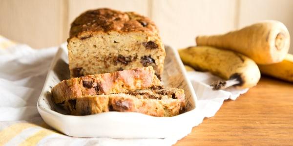 Parsnip Banana Bread