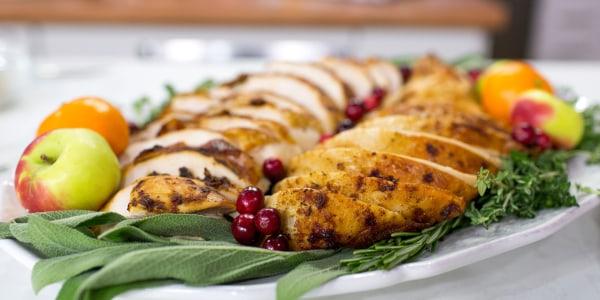 Cajun Roasted Turkey and Gravy