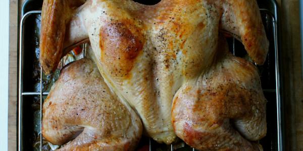 3-Hour Roast Turkey with Gravy