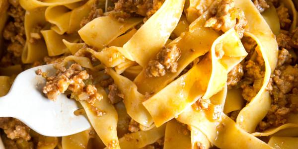 Lightened-Up Bolognese Sauce