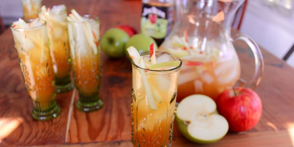 Sparkling Green Apple Sangria