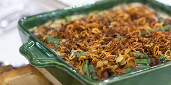 Siri Pinter's Green Bean Casserole with Crispy Shallots