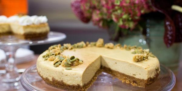Pumpkin (Calabaza en Tacha) Cheesecake