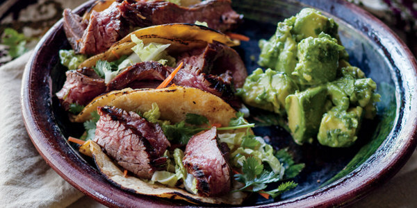 Bulgogi Steak Tacos