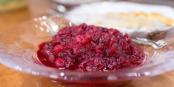 Kelsey Nixon's Homemade Cranberry Sauce