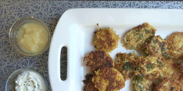 Pumpkin Potato Hanukkah Latkes