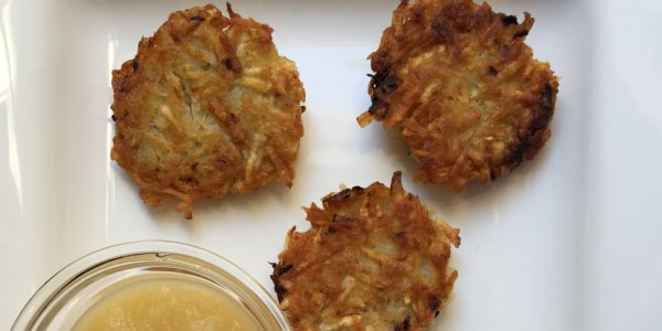 Classic Hanukkah Potato Latkes