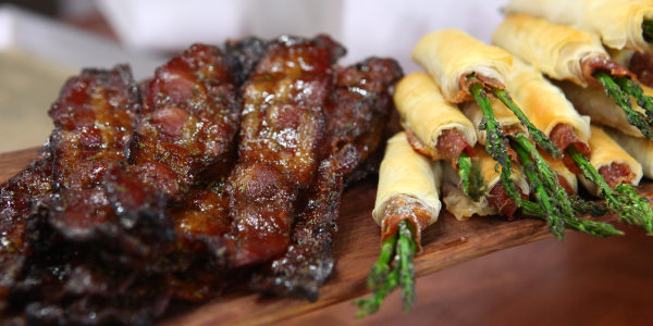 Ryan Scott's Gazillionaire Candied Bacon
