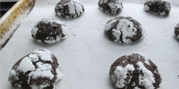 Exceedingly Chocolaty Crinkles
