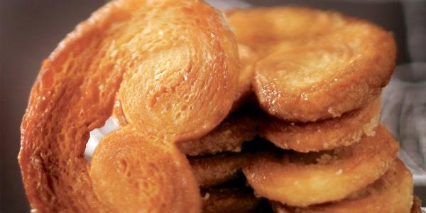 2-Ingredient Palmiers Cookies