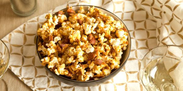 Nutty Caramel Corn
