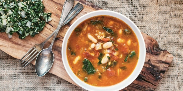 Slow-Cooker Farro Soup