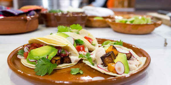 Jalapeño Roast Chicken Tacos