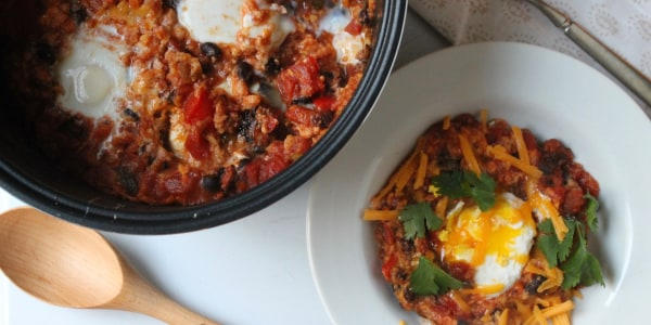 Slow-Cooker Huevos Rancheros