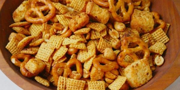 Rosemary-Garlic Chex Mix