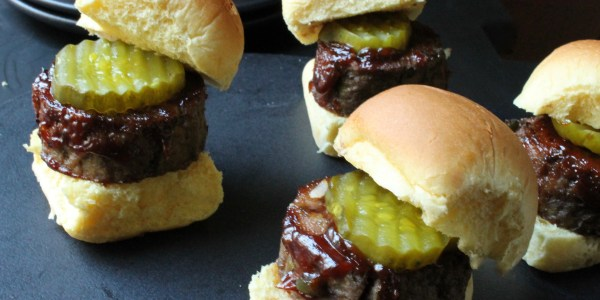 BBQ Mini Meatloaf Sliders