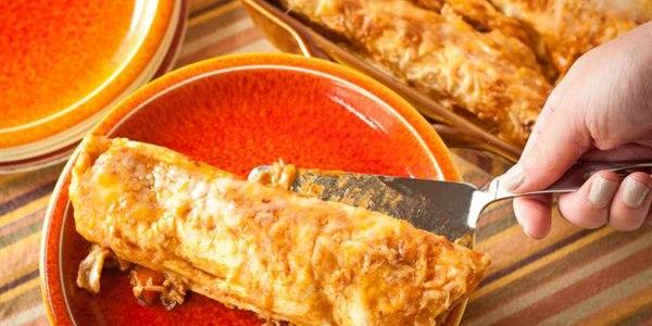 Make-Ahead Chicken Enchiladas