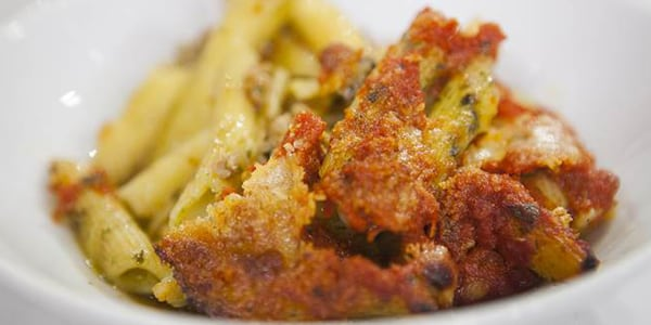 Giada De Laurentiis' baked pesto pasta casserole