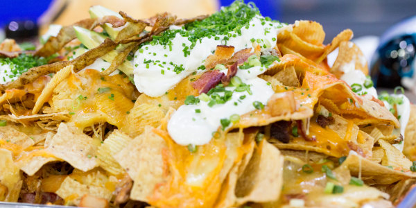 Loaded Potato Skin Nachos