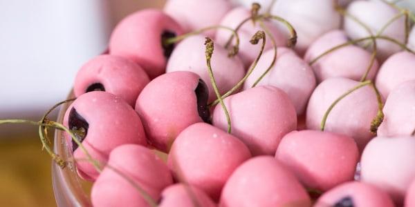 Valentine's Day Ombre Cherries