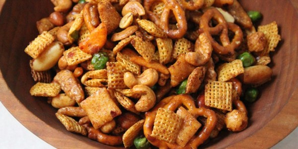 Sweet and Spicy Thai Chex Mix