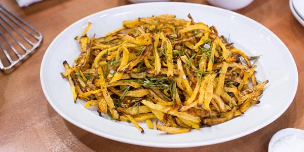 Siri's Rosemary Rutabaga Fries