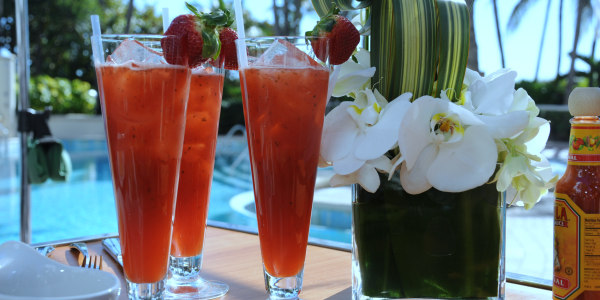 Giada's Strawberry-Basil Agua Fresca