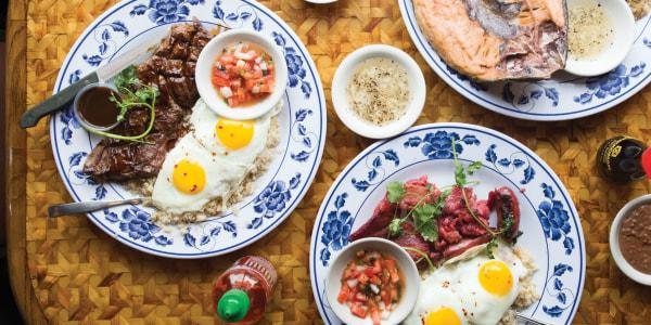 Filipino Steak with Garlic Fried Rice