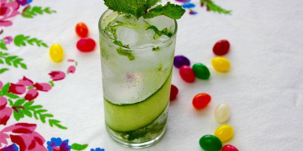 Sparkling Cucumber Mojito