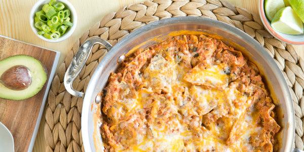 Lightened-Up Chilaquiles (Breakfast Nachos)