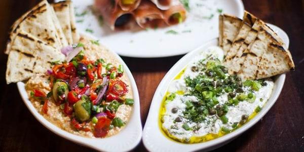 No-cook Mediterranean Mezze Platter