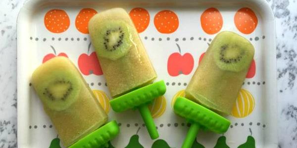 Kiwi Melon Popsicles
