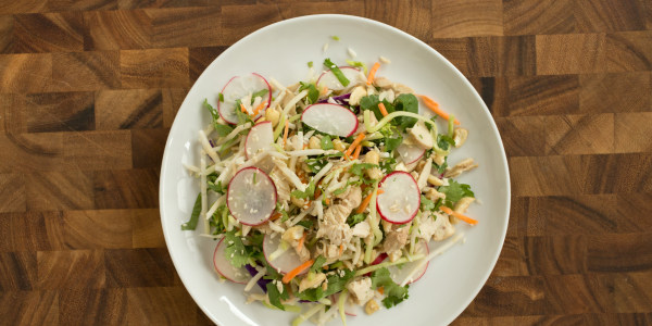 Chicken Cashew Slaw