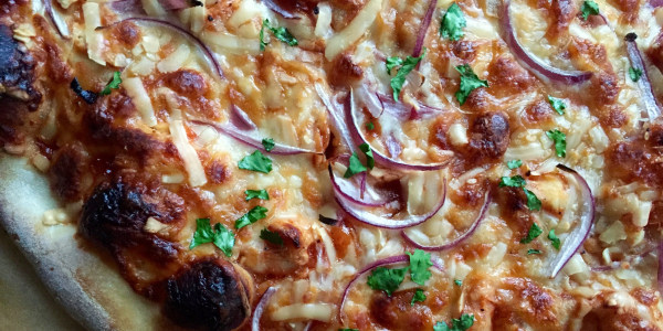 California Pizza Kitchen's BBQ Chicken Pizza Copycat