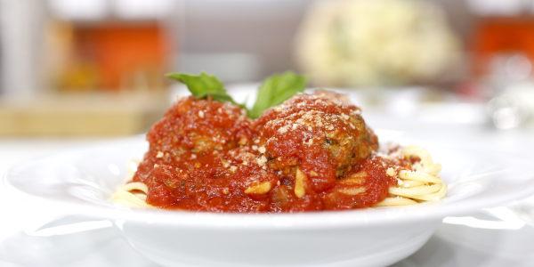 Grandma Maroni's Spaghetti and Meatballs
