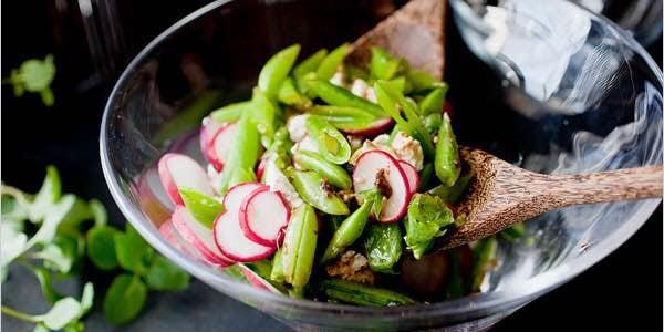 Springtime Snap Pea Salad
