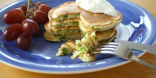Savory Asparagus Pancakes