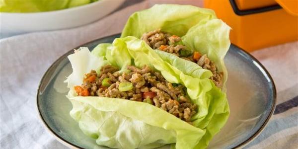 Make-Ahead Lettuce Wraps