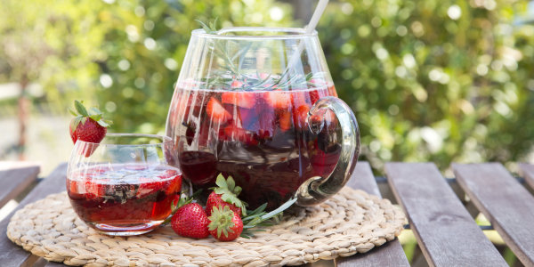 Berry-Herb Sangria