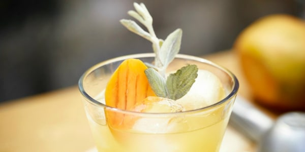 Mango-Sage Margarita