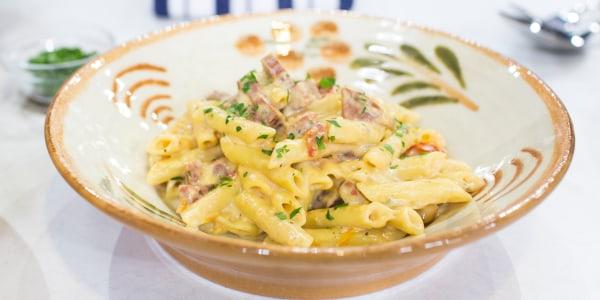 Pasta with Salami and Cheese (Gubbio Pasta Salumi)