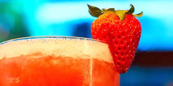 3-Ingredient Strawberry Margarita