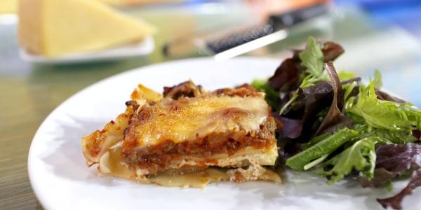 300-Calorie Healthy Lasagna
