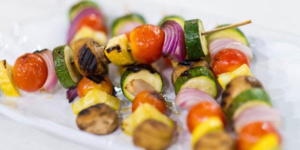 Al's Grilled Vegetable Skewers