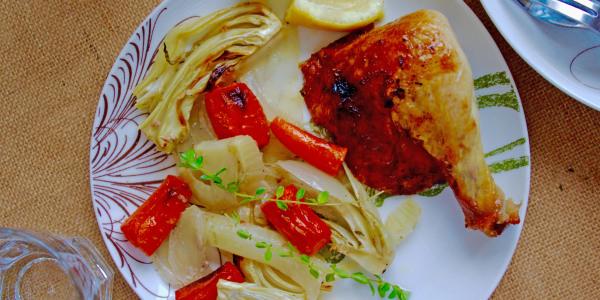 Lemon-Thyme Roast Chicken