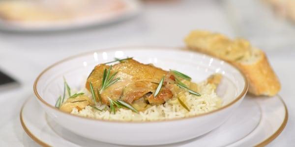 30 Garlic Clove Chicken