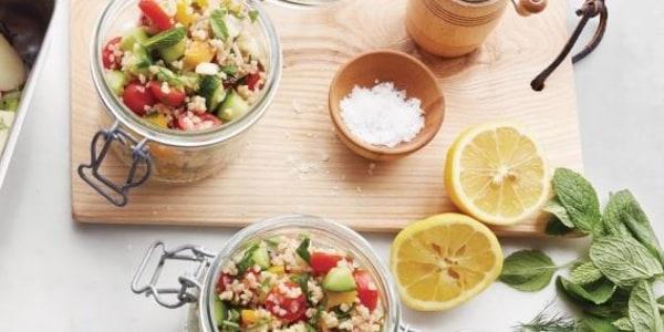 Martha Stewart's Chopped Vegetable Tabbouleh